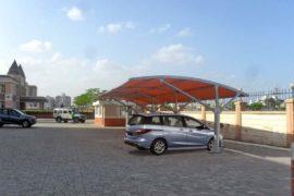 car parking shade model