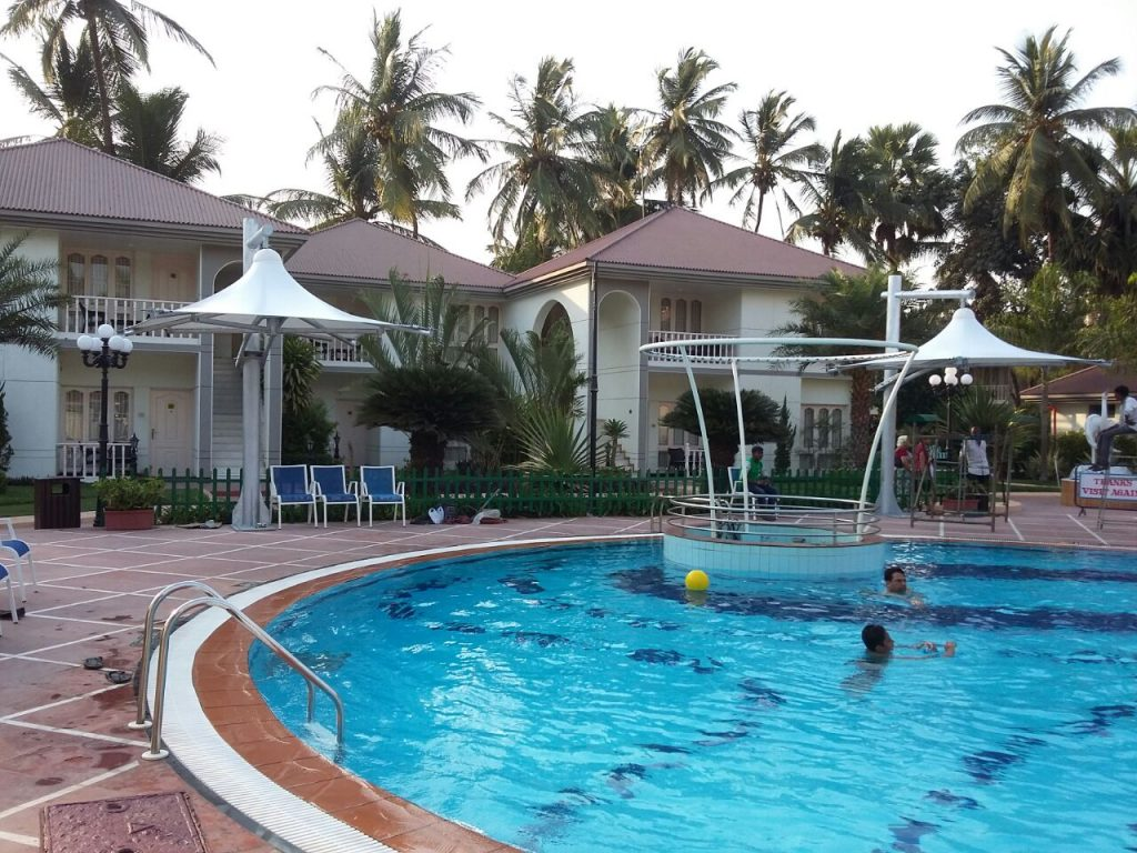 Swimming pool area covering sprech tensile structures for Swimming pool in novaliches area